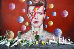 Newspapers throughout the world recorded the passing of the musical genius David Bowie.