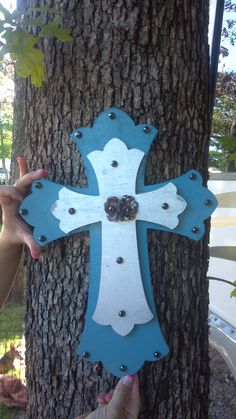 DIY cross me and amanda made