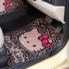 Hello Kitty floor mats