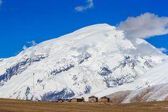 Photograph Muztagh Ata mount 7546 m above sea level by Nodir Tursun-zade on…