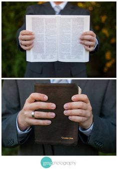 Missionary picture -- would be even more perfect if they were showing their favorite scripture!