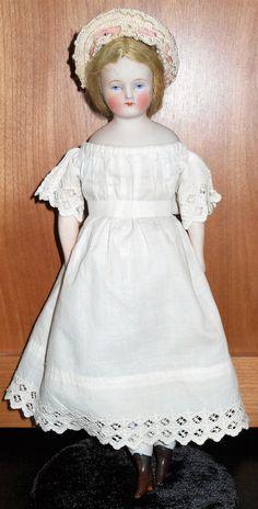 """Antique 10 1/2"""" German Bisque Doll   Dolls & Bears, Dolls, Antique (Pre-1930)   eBay!"""