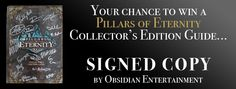 Pillars of Eternity Signed Book Giveaway