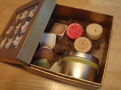 Gift Box of Tarts Tealights and Woodwick by CherryOakCandles