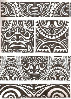 Maori tattoo kirituhi Polinesia Polynesian Tatuaje by Tatuagem Polinésia - Tattoo Maori. Maori Tattoos, Tattoo Maori Perna, Ta Moko Tattoo, Marquesan Tattoos, Samoan Tattoo, Forearm Tattoos, Body Art Tattoos, Tribal Tattoos, Sleeve Tattoos