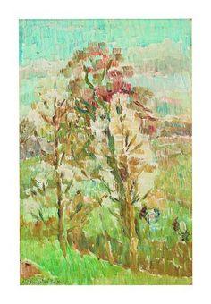 Grace Cossington Smith (1892-1984) Spring in Sussex, 1950