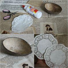 DIY: Kokosnoot-bakje