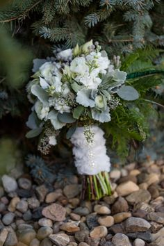 Soft, Pretty, Breathtaking: Winter Bouquet: Thode Floral