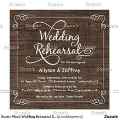 Shop Chalkboard Wedding Rehearsal Dinner Invitations created by weddingtrendy. Personalize it with photos & text or purchase as is! Chalkboard Wedding Invitations, Country Wedding Invitations, Rustic Invitations, Wedding Stationary, Shower Invitations, Dinner Invitation Template, Rehearsal Dinner Invitations, Invitation Cards, Invitation Ideas