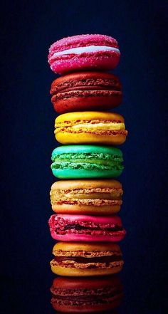 80 images about macaron on we heart it see more about food, Food Wallpaper, Colorful Wallpaper, Sunset Wallpaper, Screen Wallpaper, Mobile Wallpaper, Bonbons Pastel, Macaroon Wallpaper, Cute Food, Yummy Food