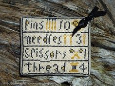 The Blog of Nevis. Work and Cross Stitch: The Goode Huswife
