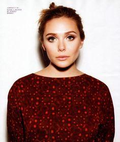 super cool photos of Elizabeth Olsen in Nylon mag.