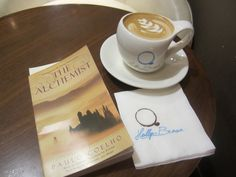 like the flowing river my personal legend paulo coelho the alchemist by paulo coelho in hong kong holly brown cafe