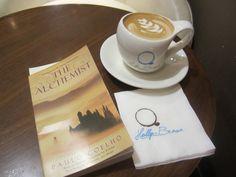colorful paulo coelho coffee books coffee
