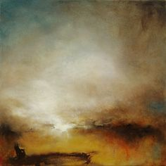 ARTFINDER: Beyond the Grit by Kerr Ashmore - Atmospheric landscape painting on canvas. If I look beyond the grit and grime and iron ore of the industrial landscape of my home, for me, there is always s...