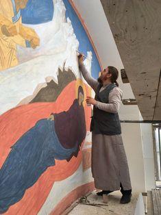Tempera, Fresco, Mural Painting, Paintings, Byzantine Icons, Orthodox Icons, Catholic, Mai, Saints