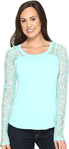 3a6a6300314 Ariat Womens Dolce Top Sea Glass Shirt    Details can be found by clicking  on