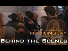 Mockingjay Part 2 - Behind The Scenes - The Cast says Goodbye Hunger Games Crafts, Hunger Games 3, Hunger Games Trilogy, Insurgent Quotes, Divergent Quotes, Tfios, Allegiant, Game Bts, Divergent Funny