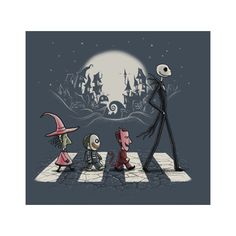 Nightmare Before Christmas t-shirts ❤ liked on Polyvore featuring tops and t-shirts