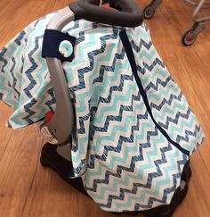 A personal favorite from my Etsy shop https://www.etsy.com/listing/230465827/carseat-cover-infant-carrier-boys-blue