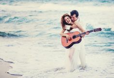 """#lovely weddings: our friends Sana and Konstantin on their """"Trash the dress"""" photoshoot"""