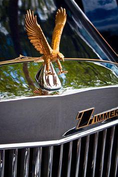 1982 Zimmer Golden Spirit by David Patterson Car Badges, Car Logos, Vintage Cars, Antique Cars, Car Symbols, Car Bonnet, Car Hood Ornaments, Car Head, Radiator Cap