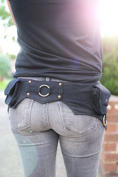 El Hipster utilidad de correa de algodón cinturón por lallidesign