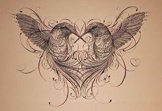 Whippet Levriero Lurcher IG DOG acquerello//pittura a inchiostro da Bridgette Lee