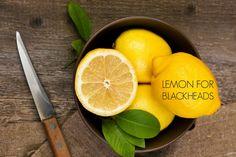 lemon for blackheads