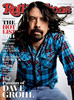 Dave Grohl on the December 4, 2014 cover.