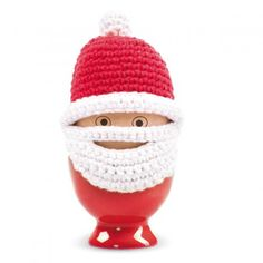 Hand Crocheted Father Christmas Egg Cosy by TheLittleBoysRoom, the perfect gift for Explore more unique gifts in our curated marketplace. Father Christmas, Christmas Fun, Christmas Ornaments, Christmas Tree Ugly Sweater, Design3000, Modern Christmas Decor, Creative Labs, Christmas Stocking Fillers, Textiles