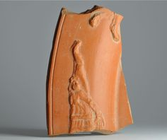 African red slip ware sherd with damnatio ad bestias 4