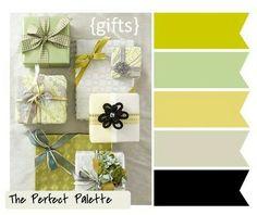 Planner colour scheme