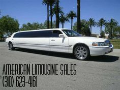 2005 LINCOLN Classic White 120-inch 10 Pass. Limousine #1037 - $25995   Visit our website at: Americanlimousinesales.com