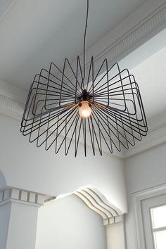 wireframe black chandelier (lighting, lamp, home, decor)