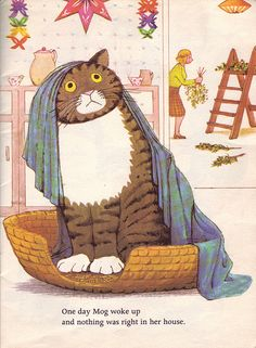 Mog's Christmas. Written and iIlustrated by Judith Kerr. 1976