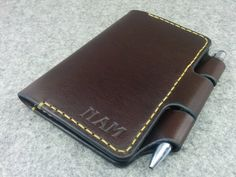 Field Notes and Moleskine Cover Field Notes Wallet от HandmadeEK