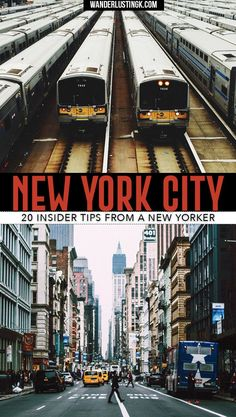 Visiting NYC for the first time? Read 20 insider New York travel tips by a New Yorker for your first trip to NYC with local secrets.