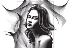 Using the Blend Tool to Create a Halftone Effect Portrait in Adobe Illustrator | Vectortuts+