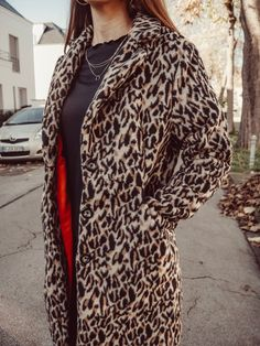 Mantel nähen - mein neues Lieblingsteil - La Bavarese Couture, Outfit, Fur Coat, Sewing Ideas, Tiffany, Inspiration, Fashion, Jackets, Outfits