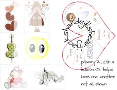 Lesson 32 Primary 2 Choose the Right, love one another, FHE, primary lesson helps, primary visual aids