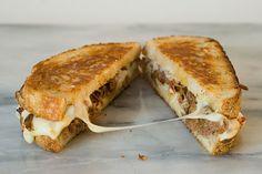 Simply so good. Italian Beef Fontina Sandwiches