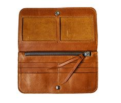Women's Raw Wallet inside by rib and hull - italian leather