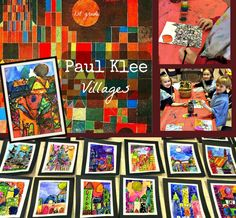 Paul Klee Villages: 1st Grade