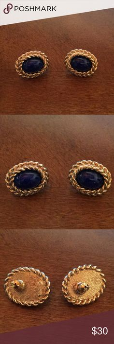 Vintage Christian Dior Pierced Earrings Vintage Christian Dior Pierced Earrings from my mom's collection! In excellent condition. Jewelry Earrings