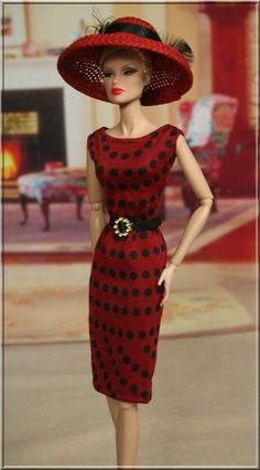 "style4doll outfit  for Fashion Royalty 12"" Barbie Silkstone."