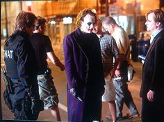 Gary Oldman and Heath Ledger directed by Christopher Nolan