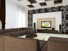 HOME DECOR: Living Room CNC Wood Designs Will Blow Your Mind