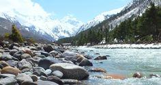 Baspa River Chitkul Himachal Pradesh