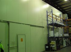We are experts in the design, construction & installation of large-scale commercial/industrial cool rooms & temperature-controlled rooms in Melbourne. Freezers, Panel Systems, Cool Rooms, Melbourne, Cube, Commercial, Ceiling Lights, Cool Stuff, Storage